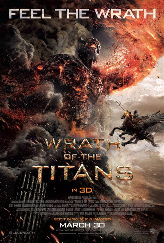 Wrath of the Titans Large Poster