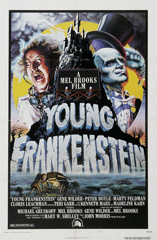 Young Frankenstein Large Poster