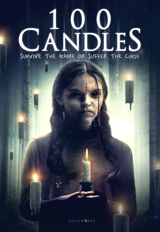 100 Candles Large Poster