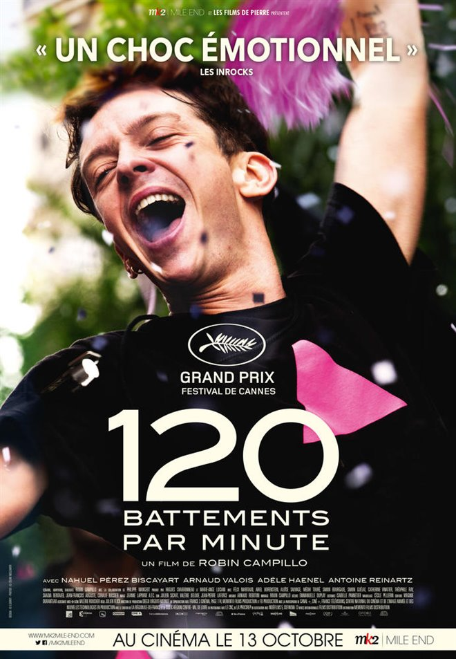 120 battements par minute Large Poster