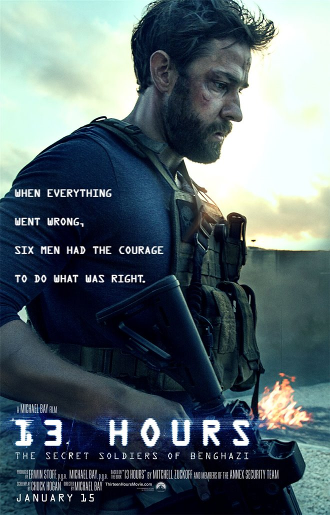 13 Hours: The Secret Soldiers of Benghazi Large Poster