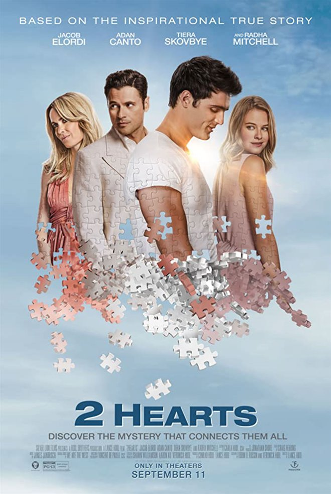2 Hearts Large Poster