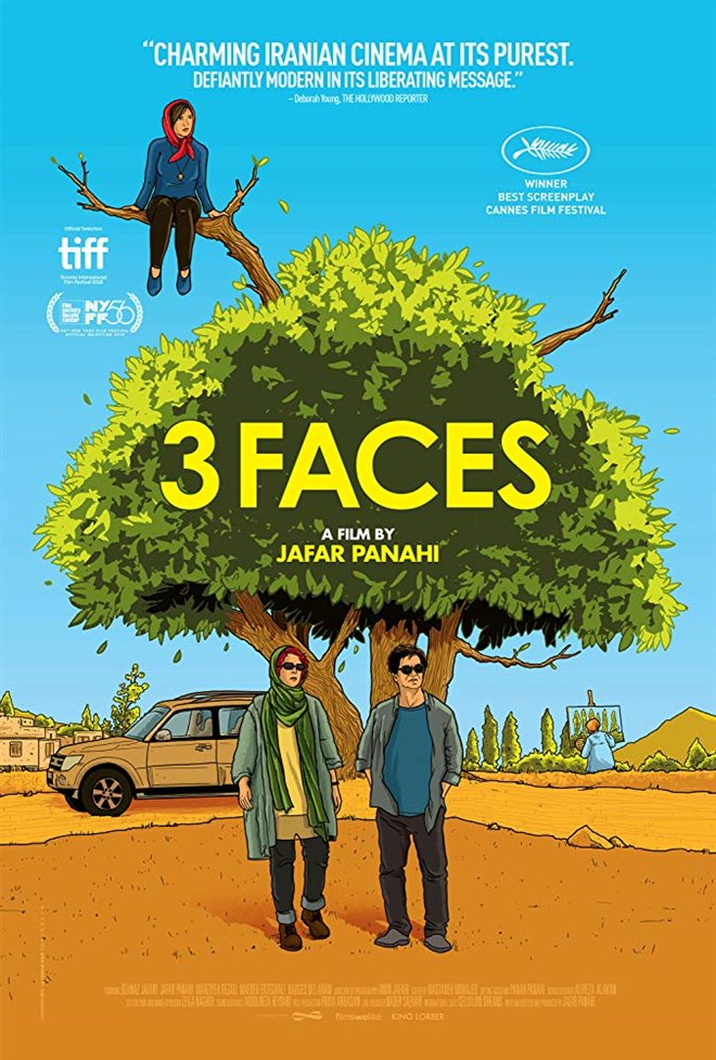 3 Faces Large Poster