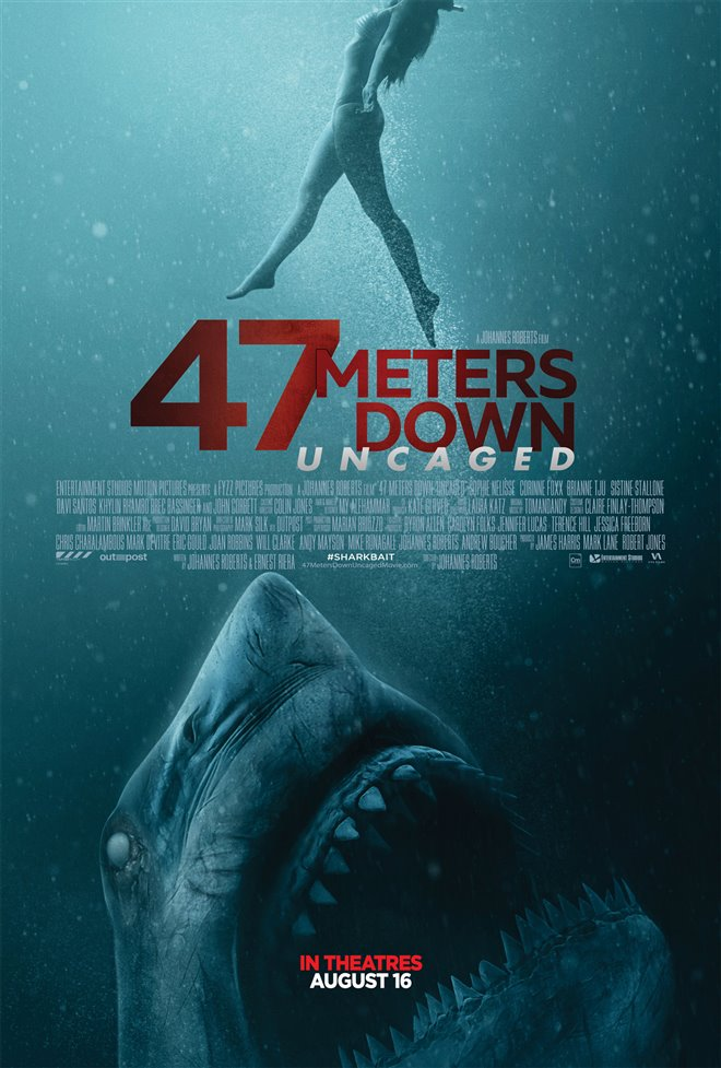 47 Meters Down: Uncaged Large Poster