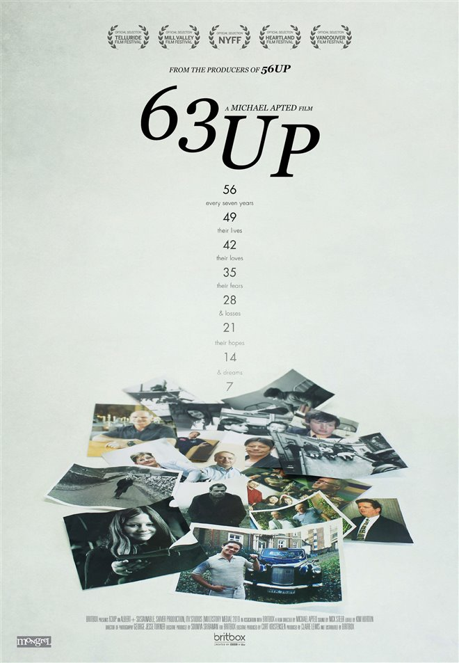 63 Up Large Poster