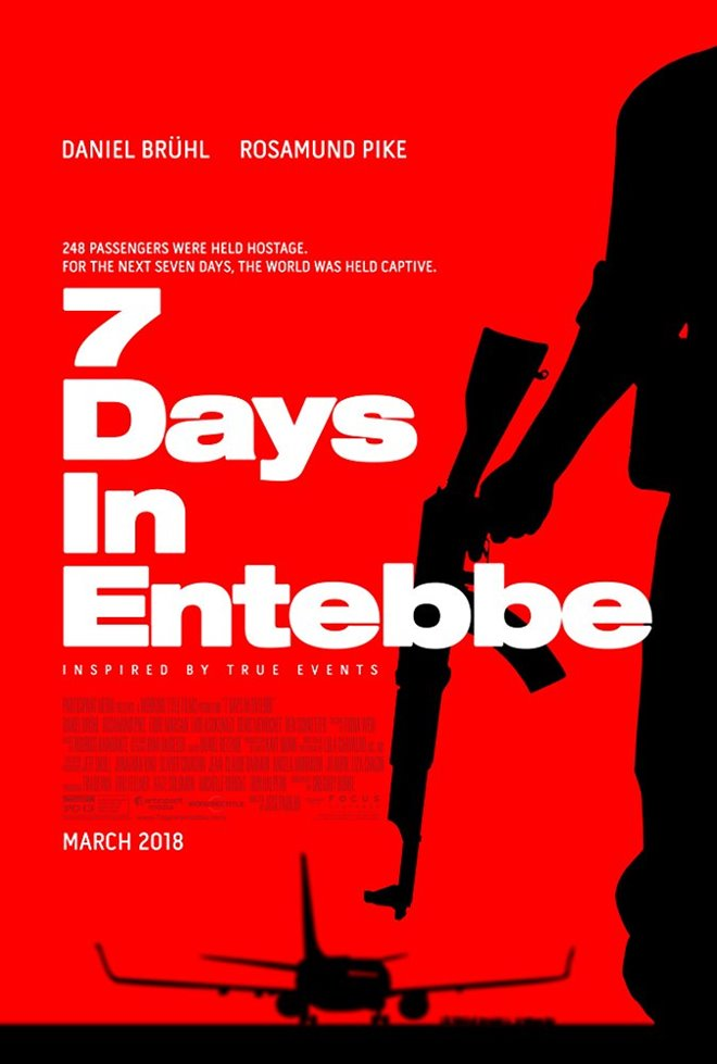 7 Days In Entebbe (v.o.a.) Large Poster