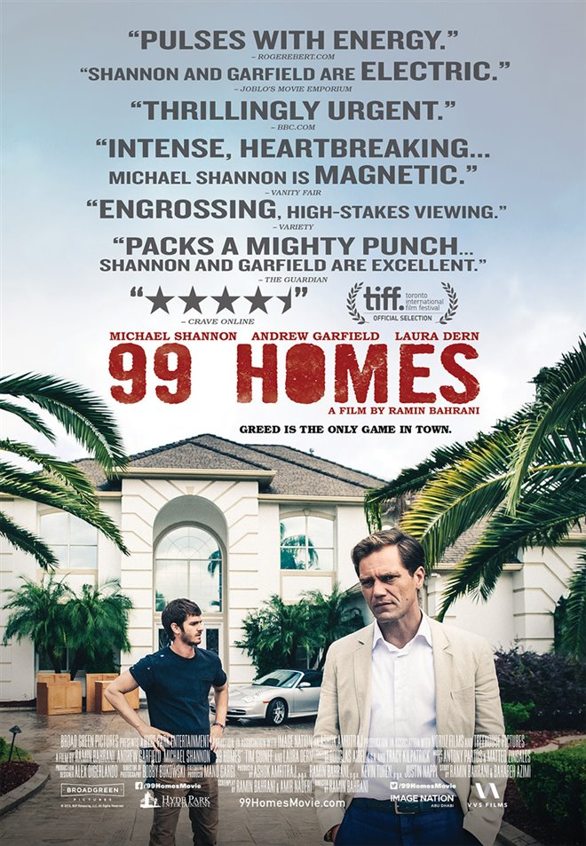 99 Homes Large Poster