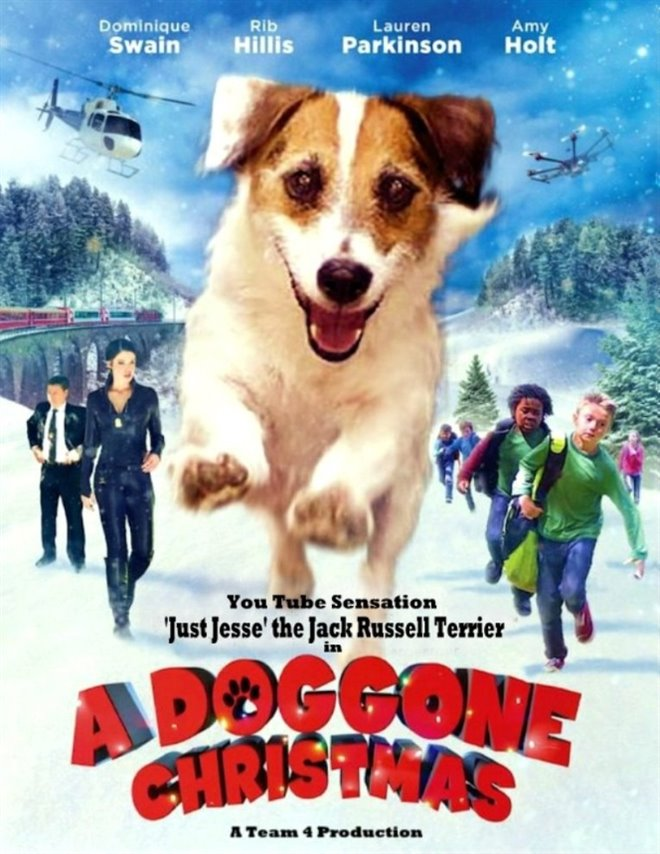 A Doggone Christmas Large Poster
