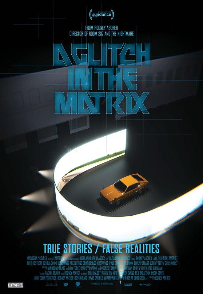 A Glitch in the Matrix Large Poster
