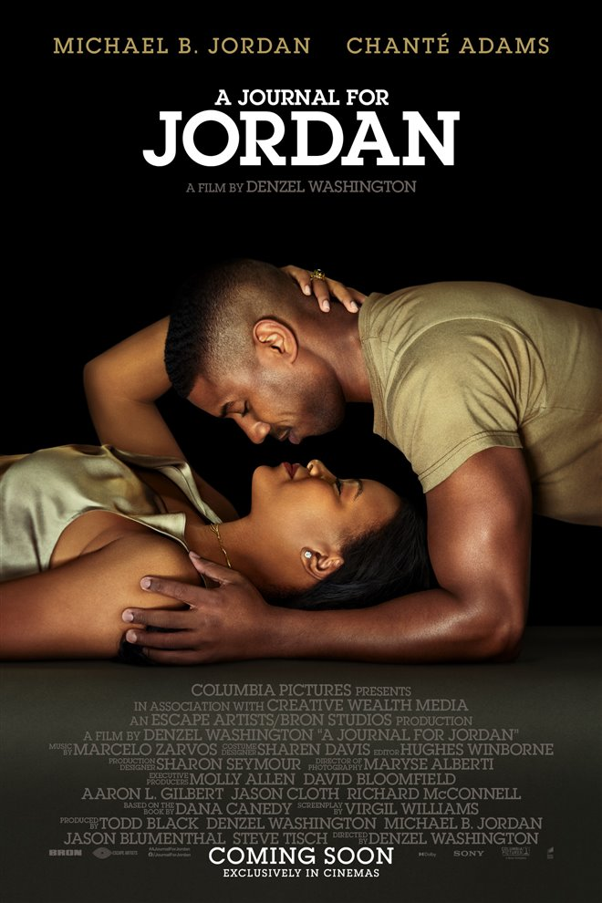 A Journal for Jordan Large Poster