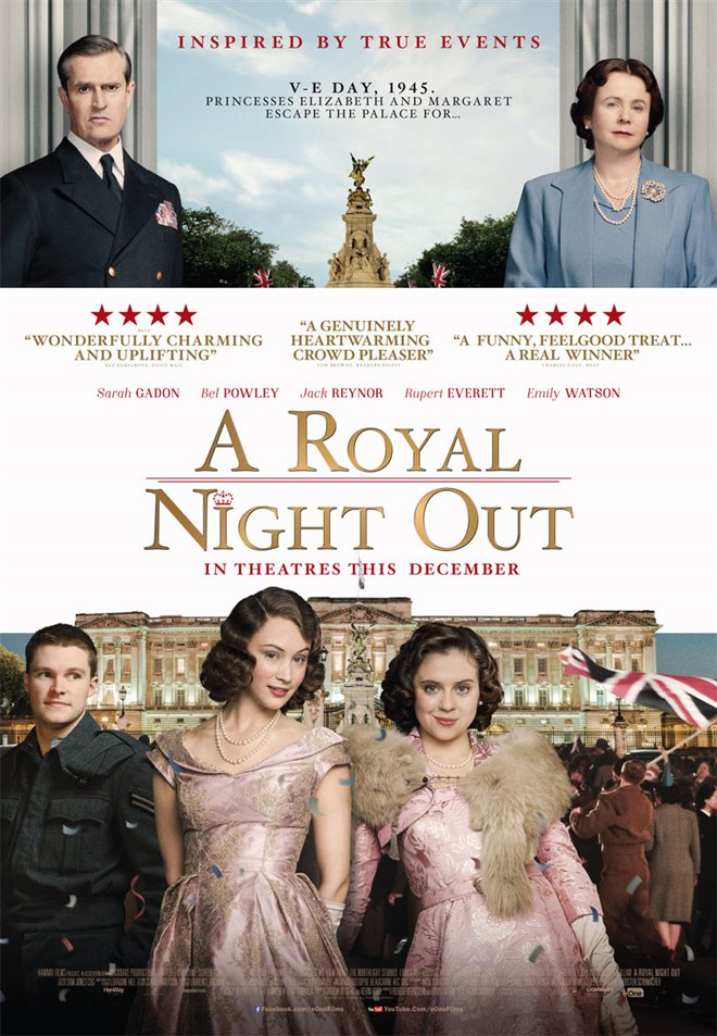 A Royal Night Out Large Poster