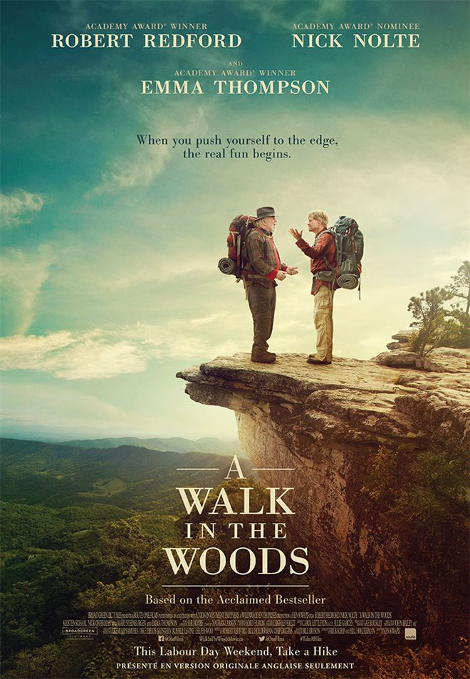 A Walk in the Woods Large Poster