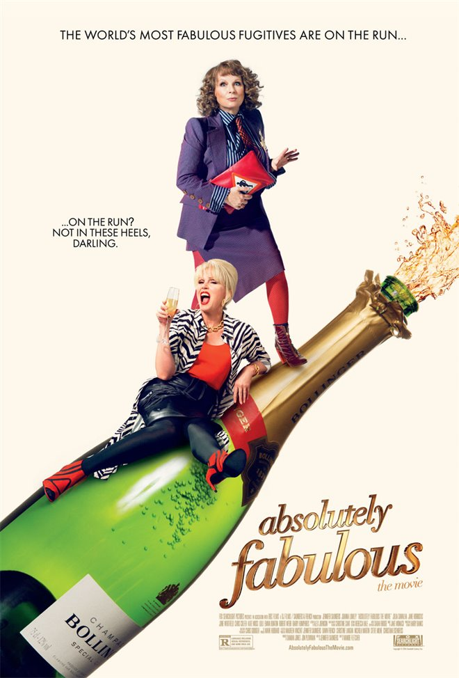 Absolutely Fabulous: The Movie (v.o.a.) Large Poster