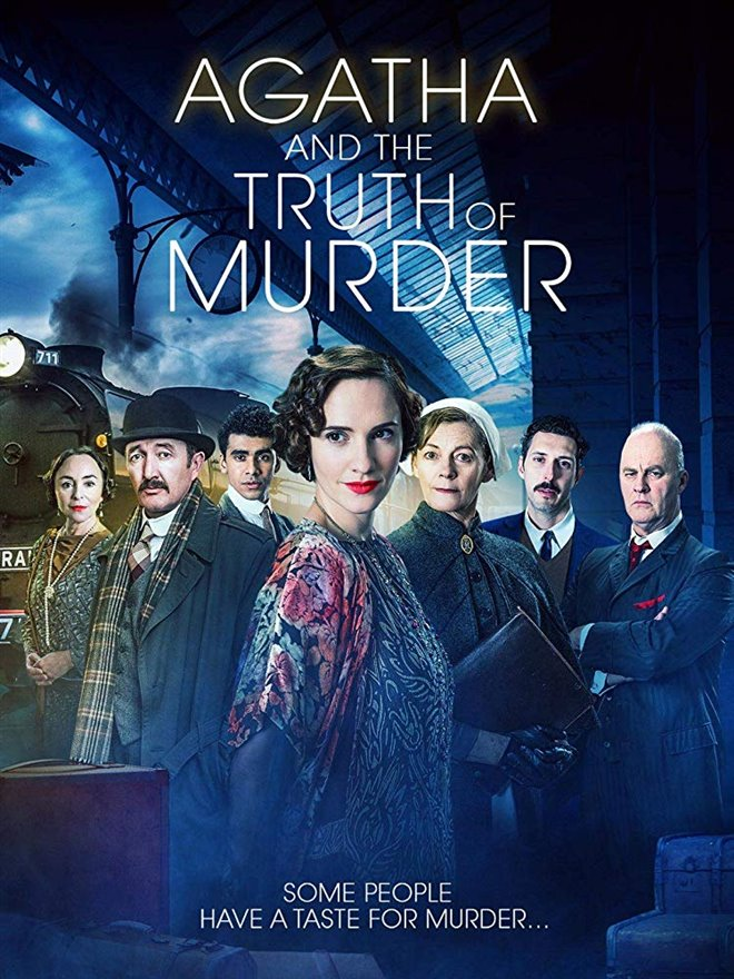 Agatha and the Truth of Murder (Netflix) Large Poster