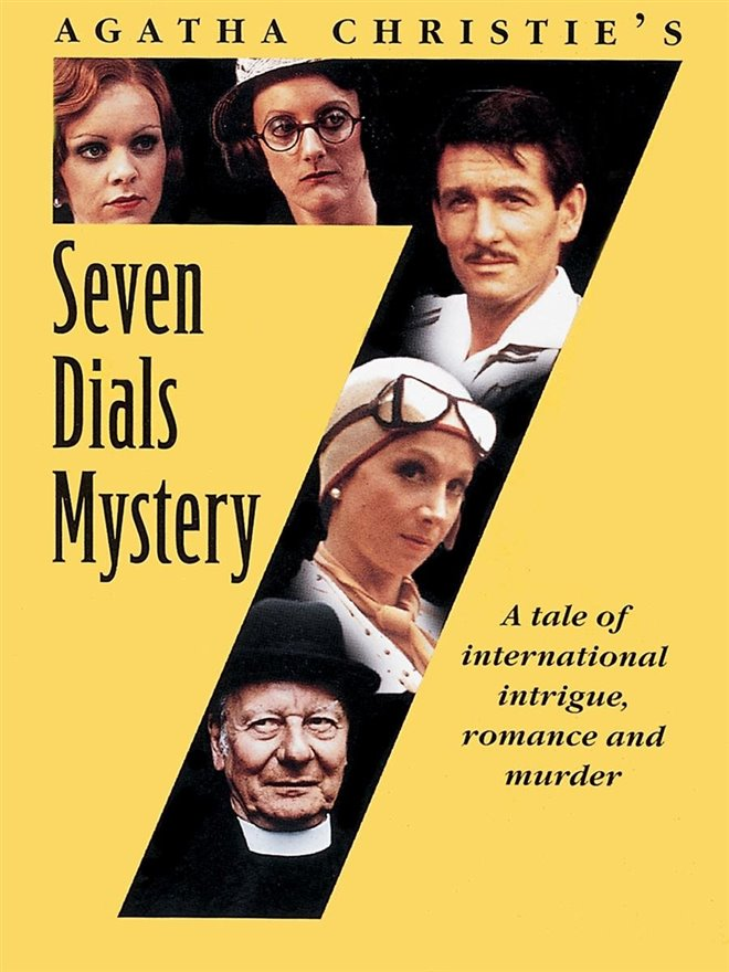 Agatha Christie's Seven Dials Mystery (BritBox) Large Poster