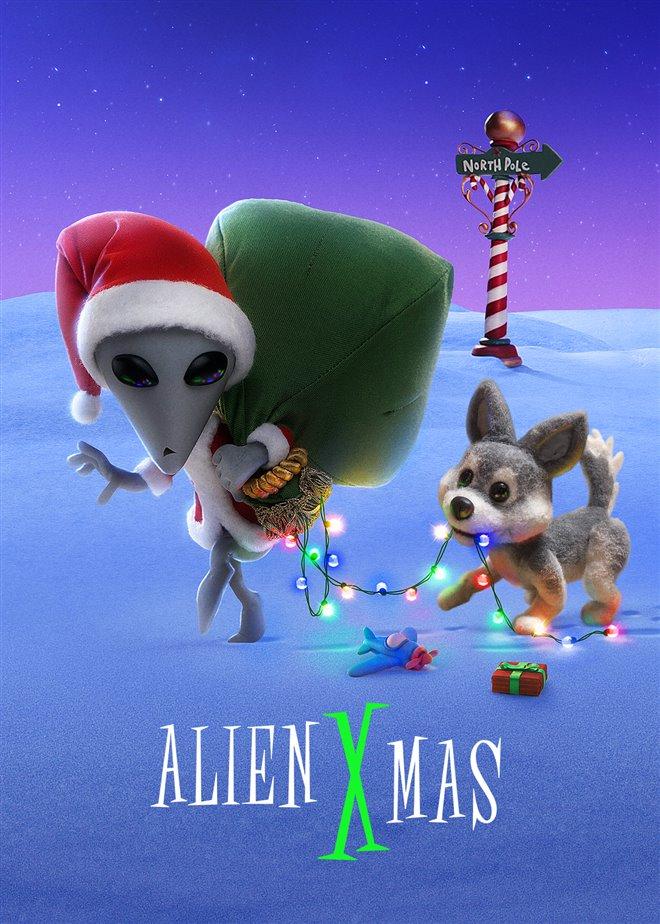 Alien Xmas (Netflix) Large Poster