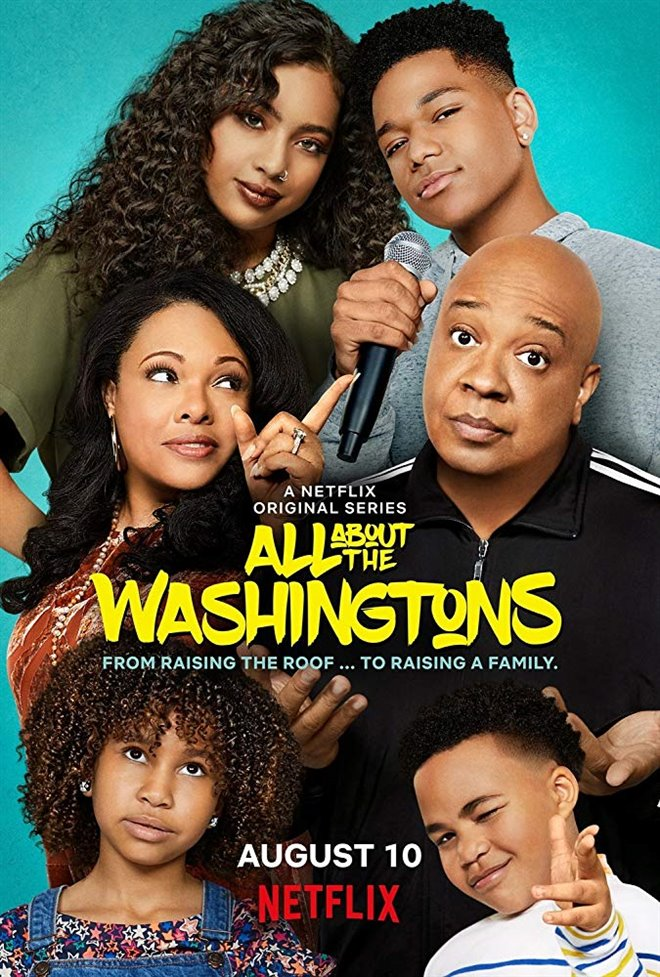 All About the Washingtons (Netflix) Large Poster