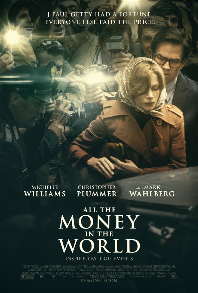 All the Money in the World Large Poster