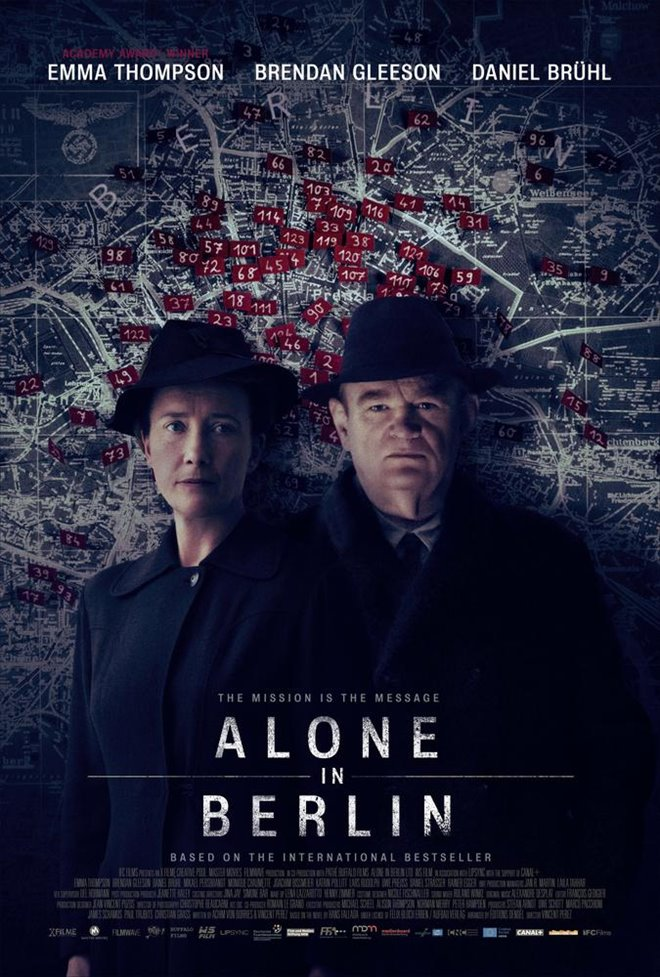 Alone in Berlin Large Poster