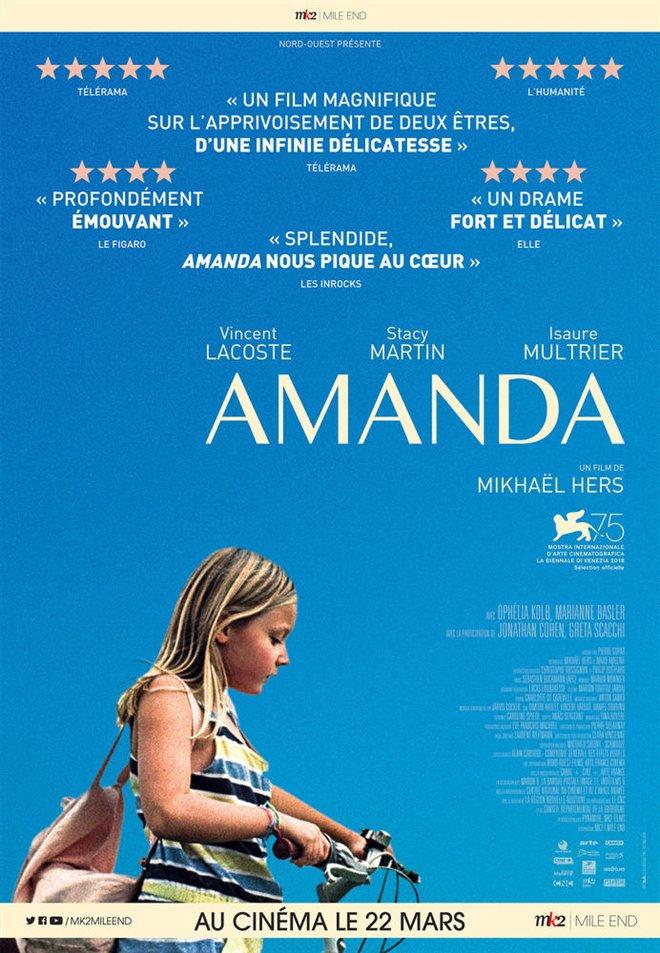 Amanda (v.o.f.) Large Poster