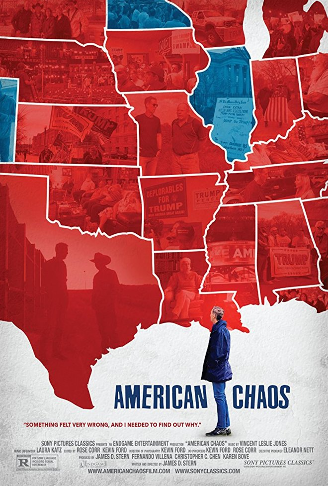 American Chaos (v.o.a.) Large Poster