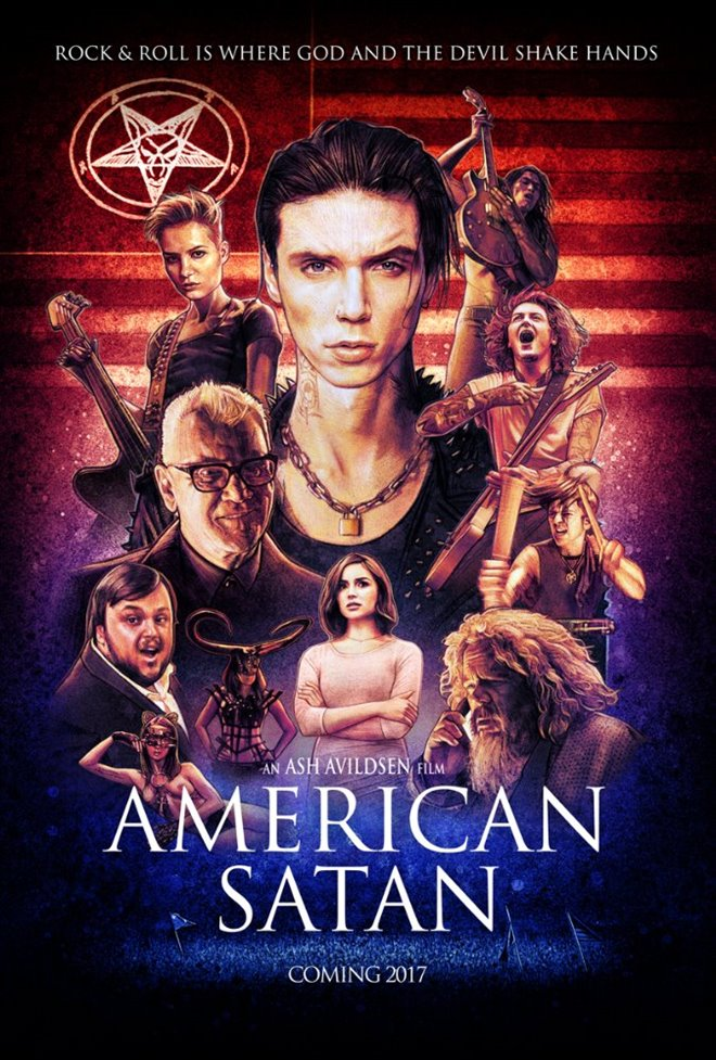American Satan (v.o.a.s.-t.f.) Large Poster
