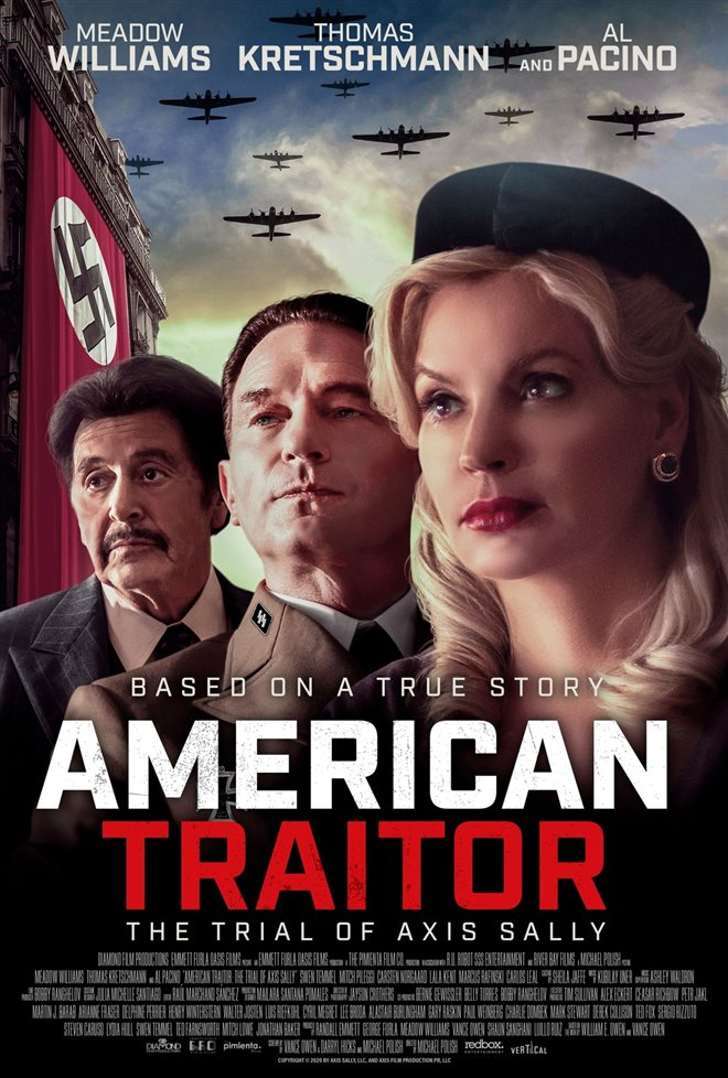 American Traitor: The Trial of Axis Sally Large Poster