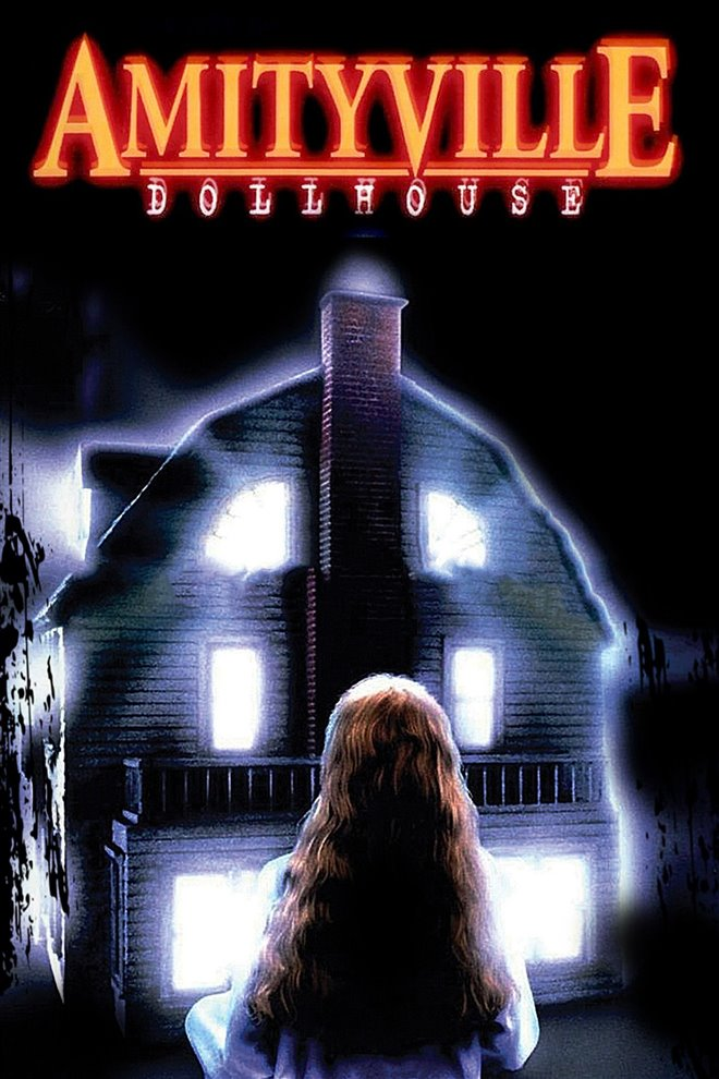Amityville Dollhouse Large Poster