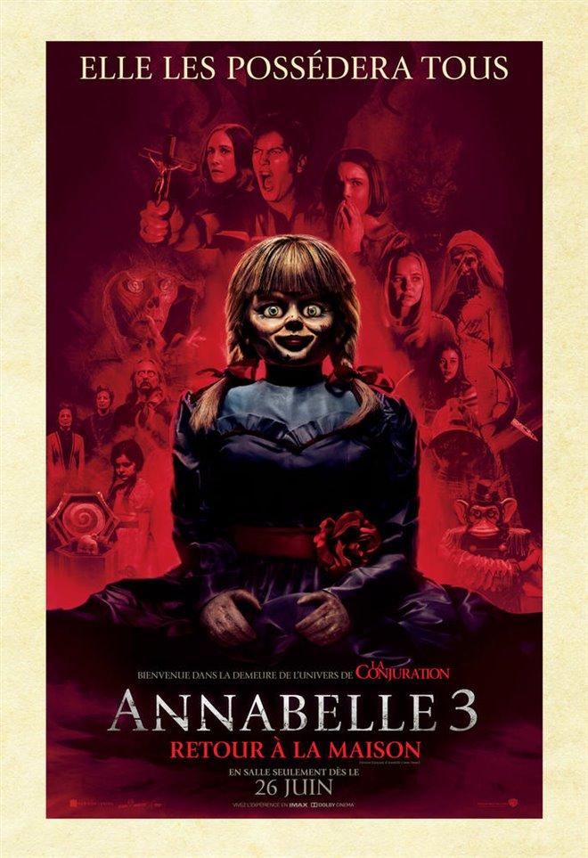 Annabelle 3 : Retour à la maison Large Poster