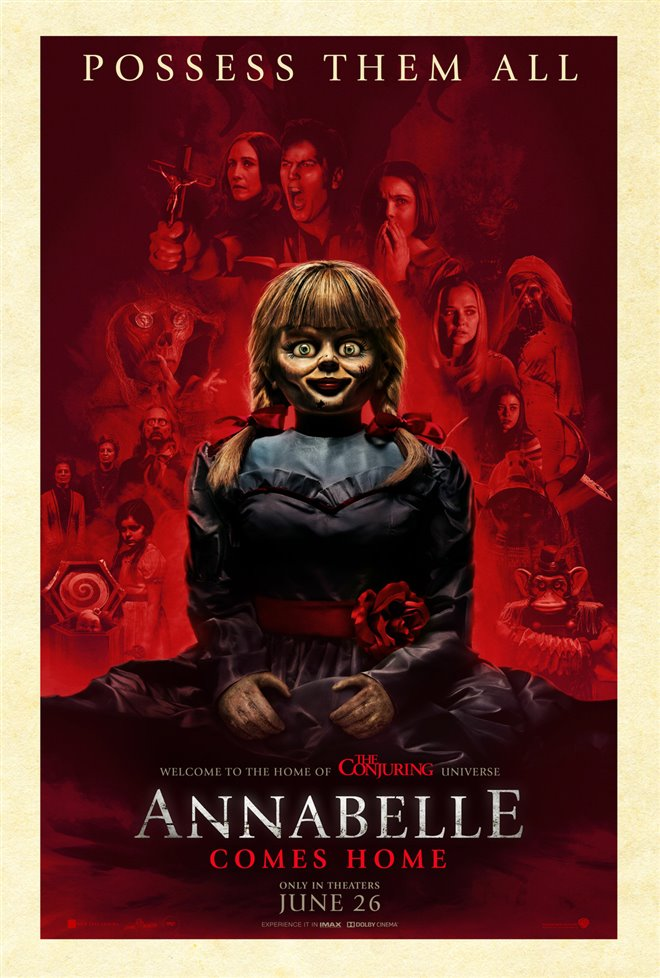 Annabelle Comes Home Large Poster