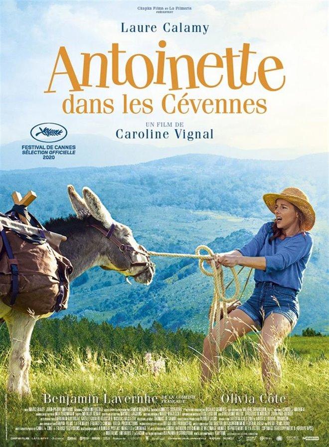 Antoinette dans les Cévennes Large Poster