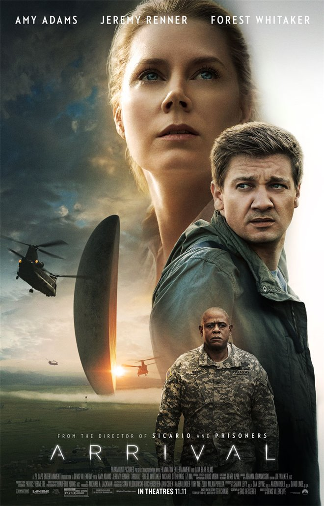 Arrival Large Poster