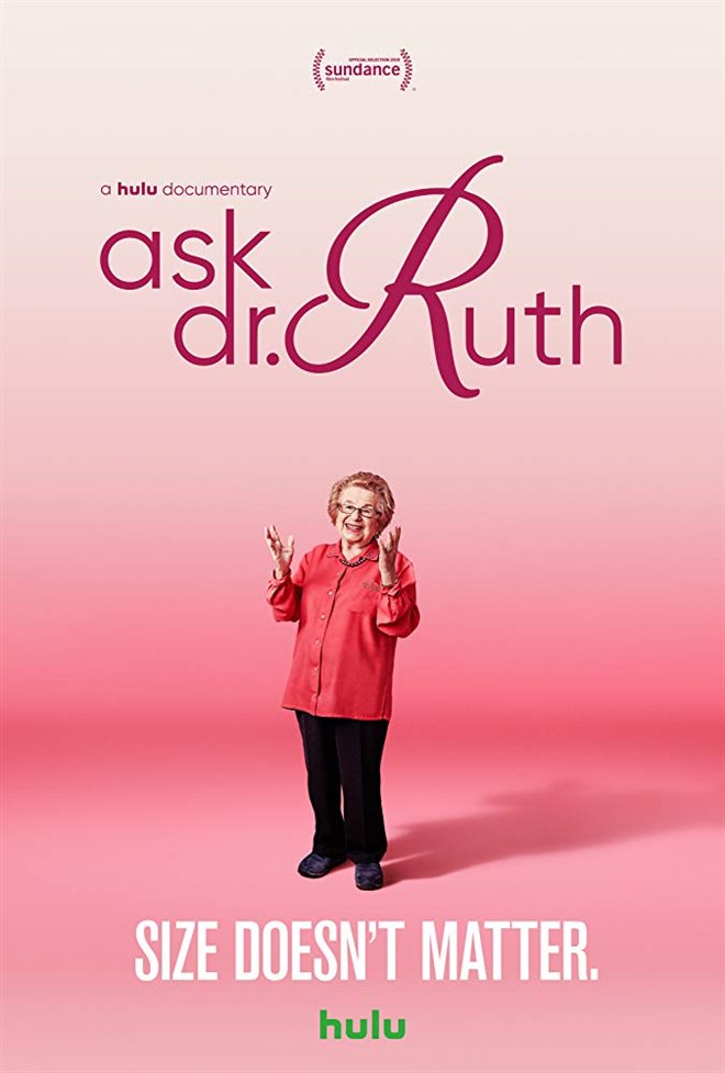 Ask Dr. Ruth Large Poster