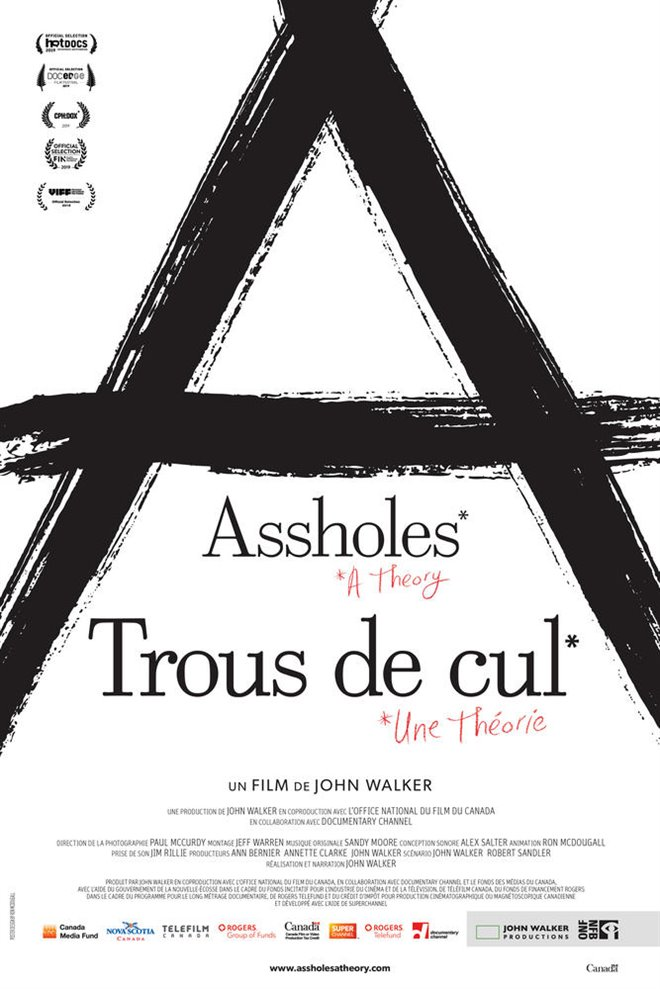 Assholes: A Theory Large Poster