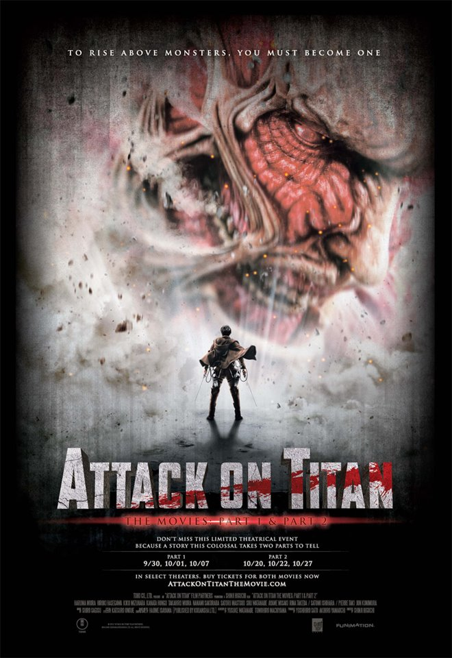 Attack on Titan: The Movie - Part 1 Large Poster