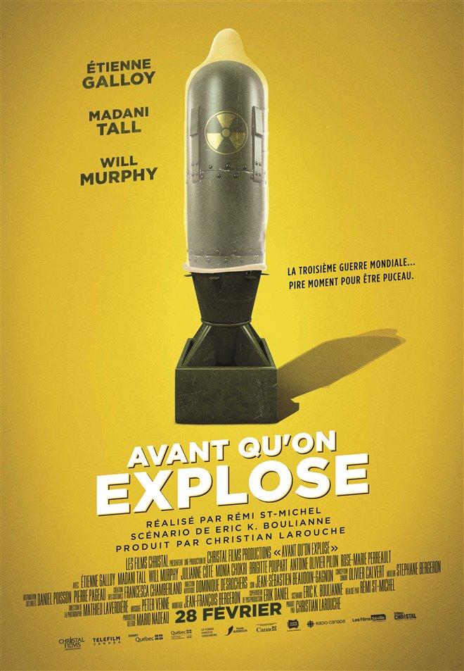 Avant qu'on explose (v.o.f.) Large Poster