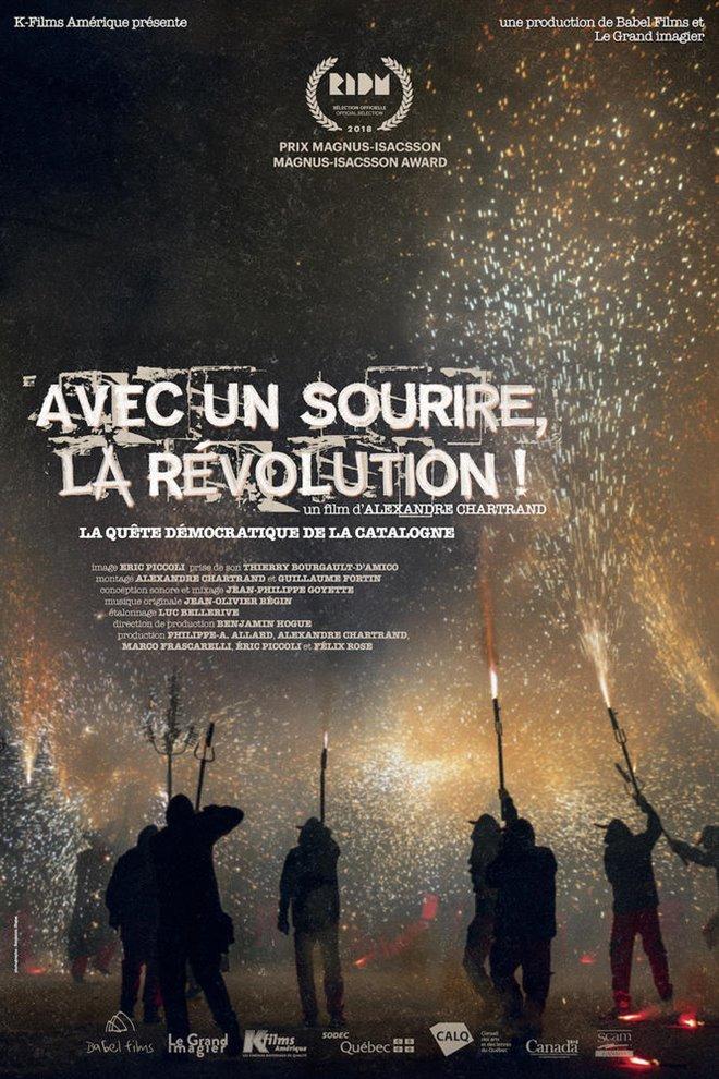 Avec un sourire, la révolution! (v.o.f.) Large Poster