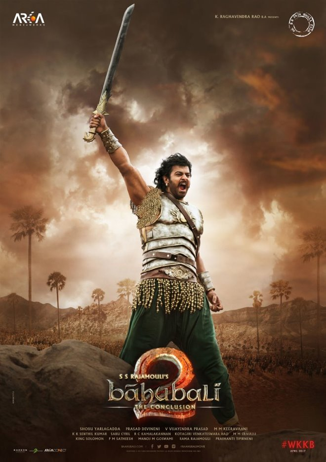 Baahubali 2: The Conclusion (Hindi) Large Poster