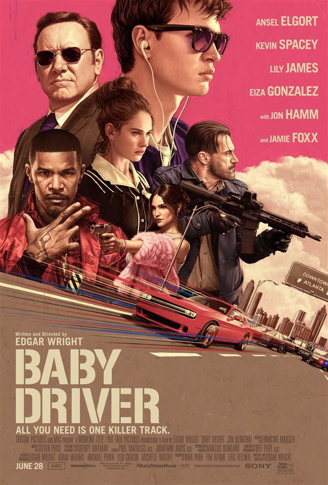 Baby Driver Large Poster