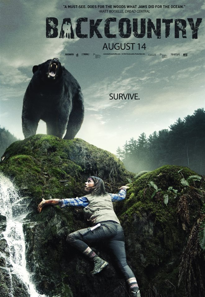 Backcountry Large Poster