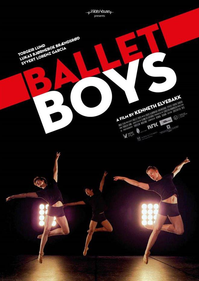 Ballet Boys Large Poster