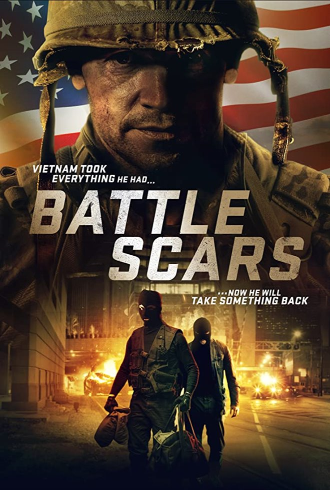 Battle Scars Large Poster