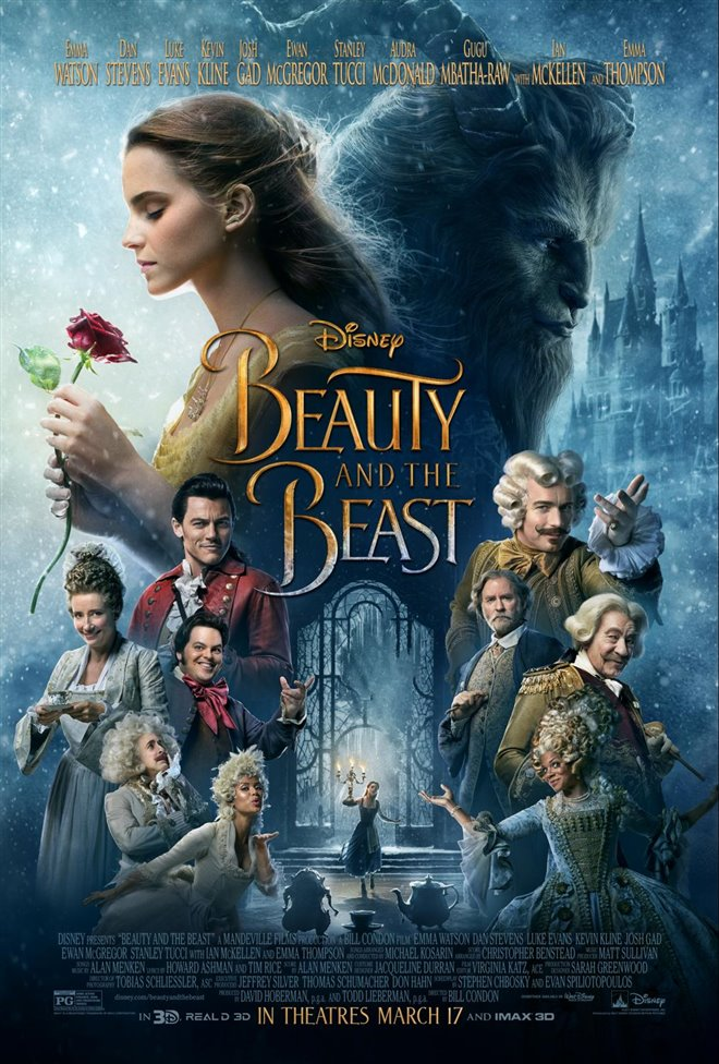 Beauty and the Beast Large Poster
