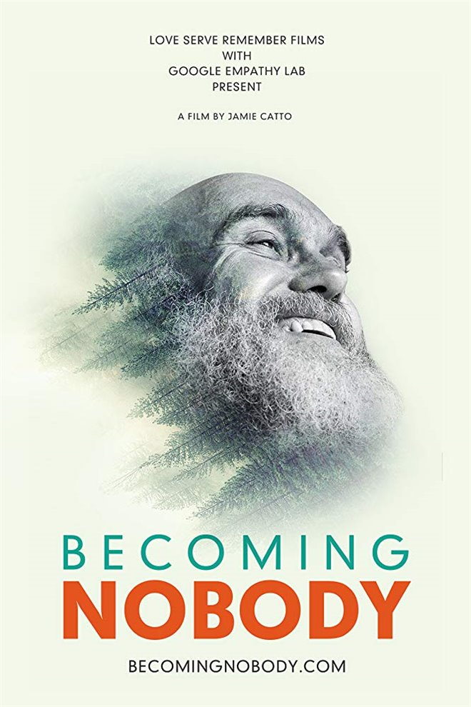 Becoming Nobody Large Poster