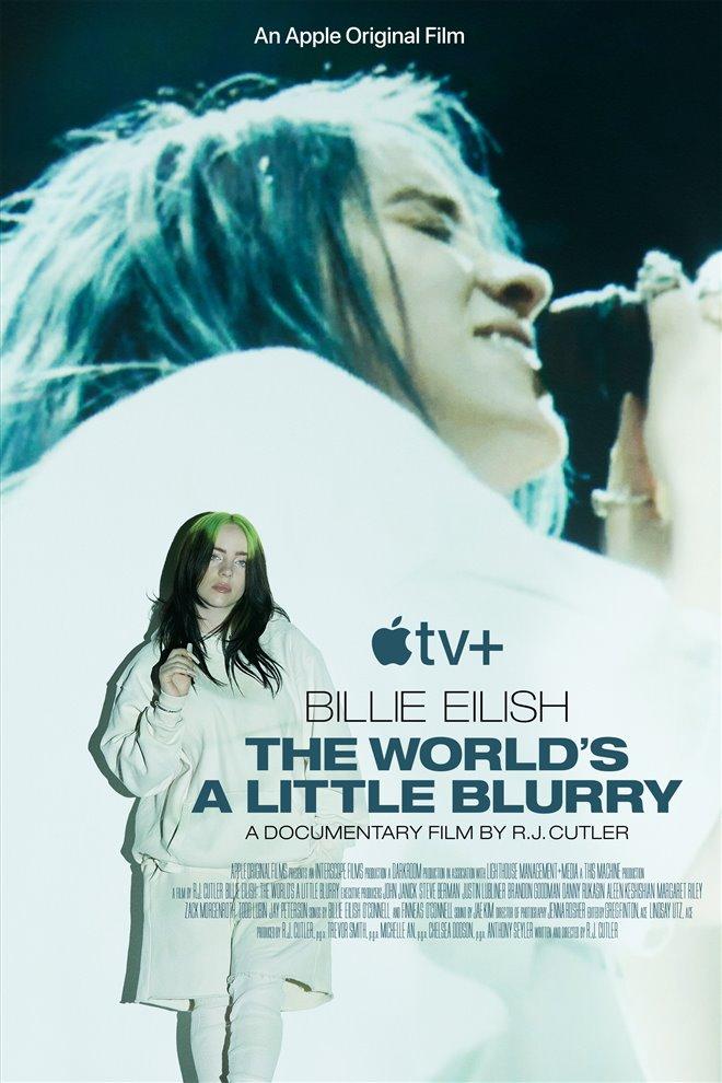 Billie Eilish: The World's a Little Blurry (Apple TV+) Large Poster