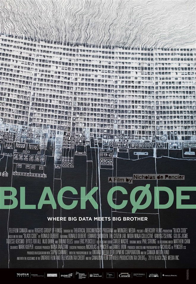 Black Code Large Poster