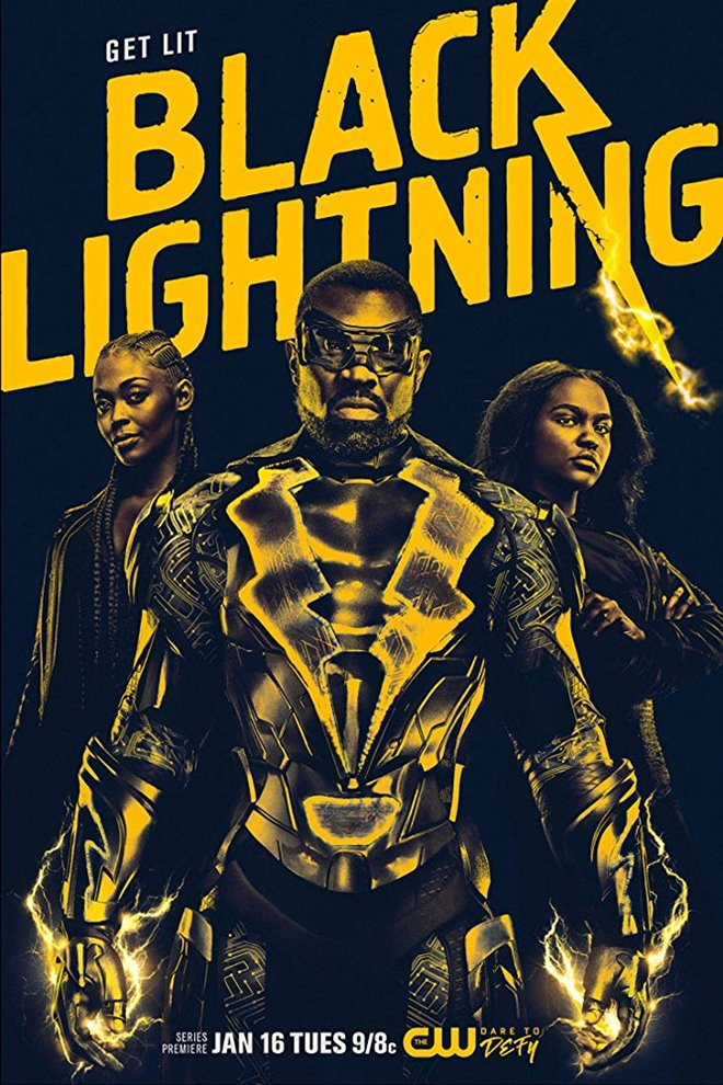Black Lightning (Netflix) Large Poster