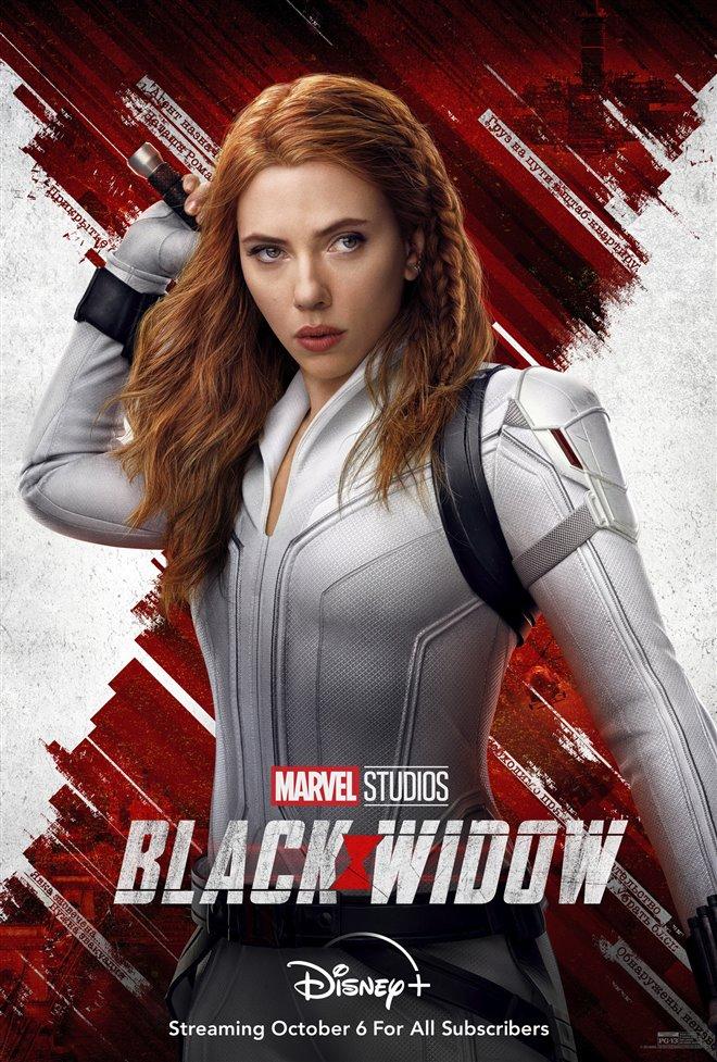 Black Widow (Disney+) Large Poster
