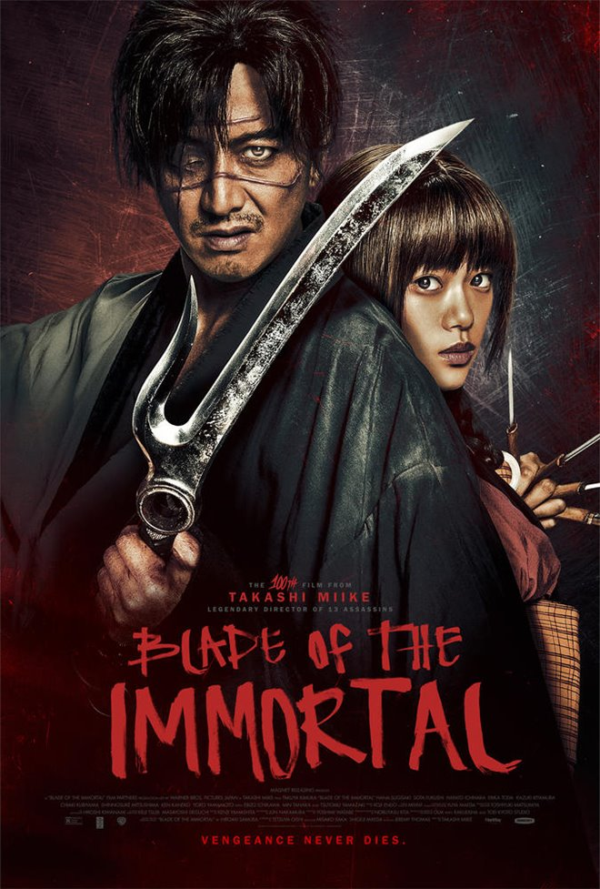 Blade of the Immortal (v.o.s.-t.a.) Large Poster