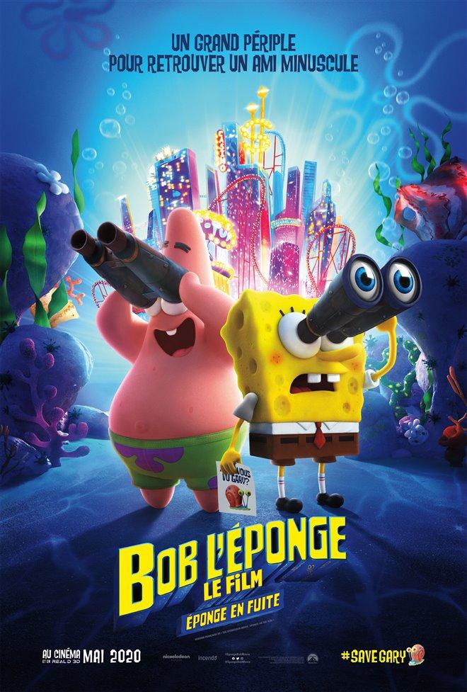Bob l'Éponge : Le film - Éponge en fuite Large Poster
